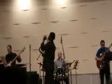 Абду Салим (саксофон, США) и группа из Архангельска п/у Тима Дорофеева в музыкальном колледже г. Вологды 6 марта 2013г
